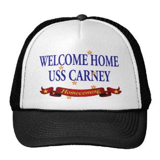 Welcome Home USS Carney Trucker Hat