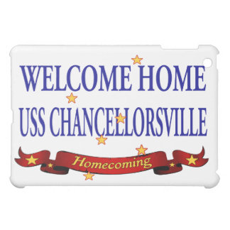 Welcome Home USS Chanorsville iPad Mini Cases