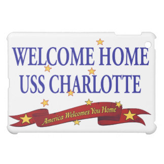 Welcome Home USS Charlotte iPad Mini Case
