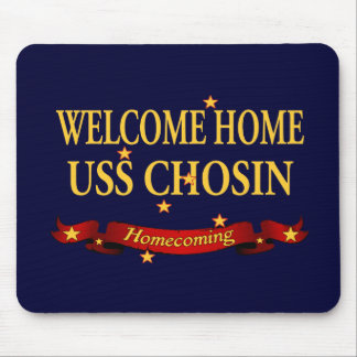 Welcome Home USS Chosin Mouse Pad