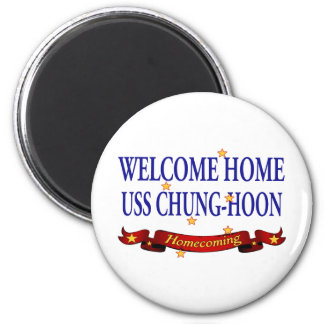 Welcome Home USS Chung-Hoon Magnet