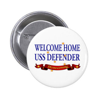 Welcome Home USS Defender Pins