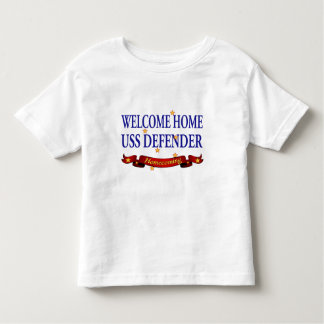 Welcome Home USS Defender T Shirts