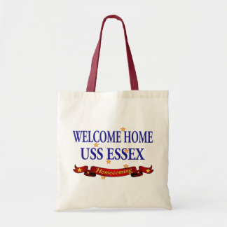Welcome Home USS Essex Tote Bag