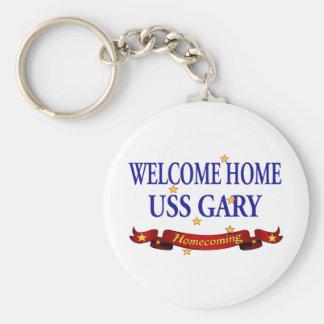 Welcome Home USS Gary Keychain