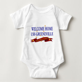 Welcome Home USS Greeneville Baby Bodysuit