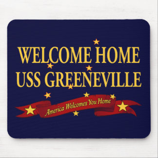 Welcome Home USS Greeneville Mouse Pad
