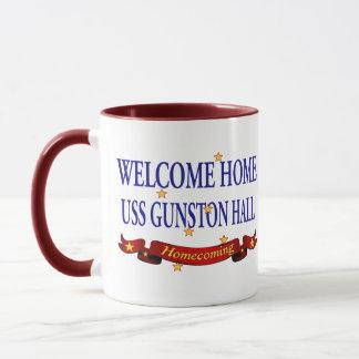 Welcome Home USS Gunston Hall Mug