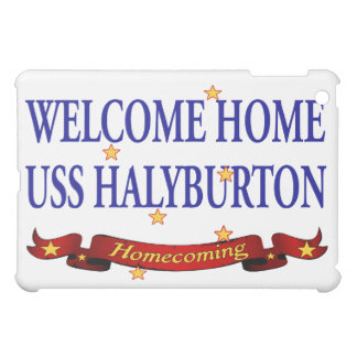 Welcome Home USS Halyburton iPad Mini Cases