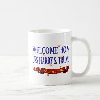 Welcome Home USS Harry S. Truman Coffee Mug