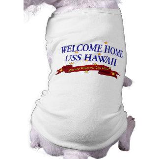Welcome Home USS Hawaii Shirt