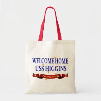 Welcome Home USS Higgins Tote Bag
