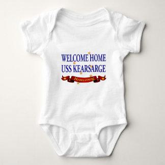 Welcome Home USS Kearsarge Baby Bodysuit