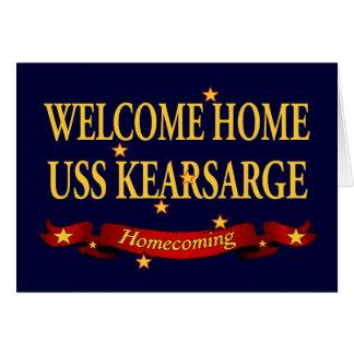 Welcome Home USS Kearsarge Card