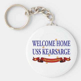 Welcome Home USS Kearsarge Keychain