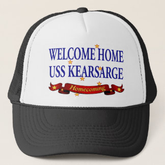 Welcome Home USS Kearsarge Trucker Hat