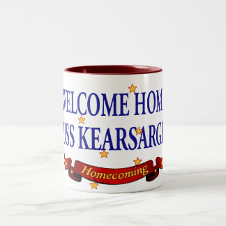 Welcome Home USS Kearsarge Two-Tone Coffee Mug