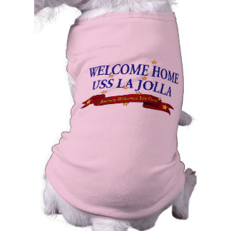 Welcome Home USS La Jolla Tee