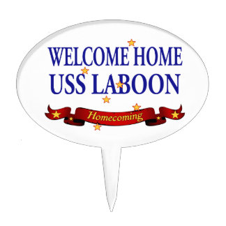 Welcome Home USS Laboon Cake Topper