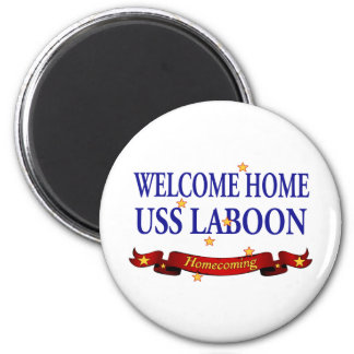 Welcome Home USS Laboon Magnet