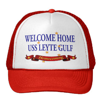 Welcome Home USS Leyte Gulf Trucker Hat