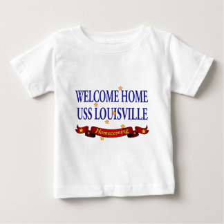 Welcome Home USS Louisville Baby T-Shirt