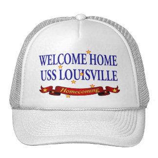 Welcome Home USS Louisville Trucker Hat