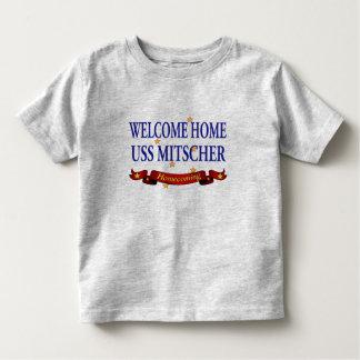 Welcome Home USS Mitscher Toddler T-shirt
