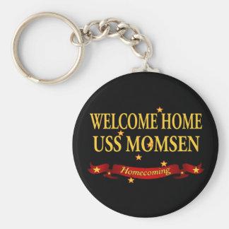 Welcome Home USS Momsen Keychain
