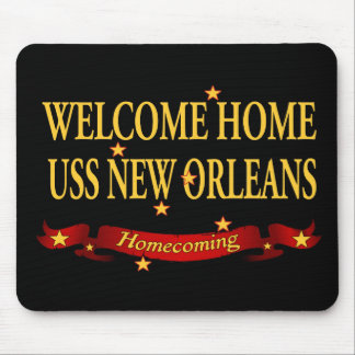 Welcome Home USS New Orleans Mouse Pad