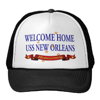 Welcome Home USS New Orleans Trucker Hat