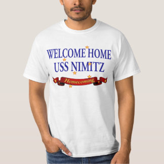 Welcome Home USS Nimitz T-Shirt