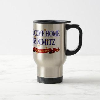 Welcome Home USS Nimitz Travel Mug