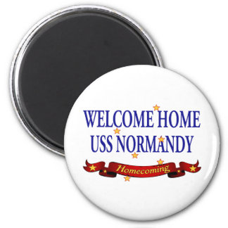 Welcome Home USS Normandy Magnet