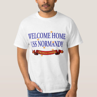 Welcome Home USS Normandy T-Shirt