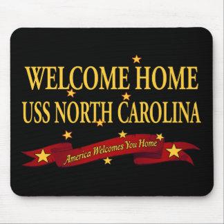 Welcome Home USS North Carolina Mouse Pad