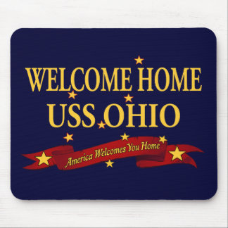 Welcome Home USS Ohio Mouse Pad