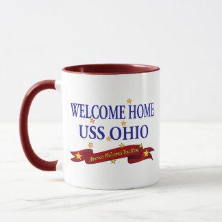 Welcome Home USS Ohio Mug