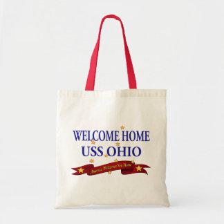 Welcome Home USS Ohio Tote Bag