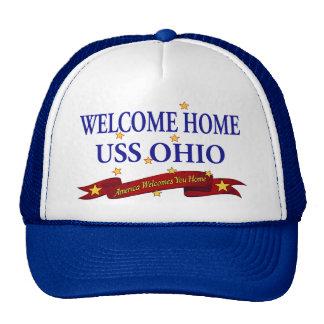Welcome Home USS Ohio Trucker Hat