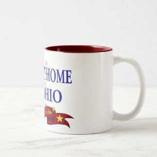 Welcome Home USS Ohio Two-Tone Coffee Mug