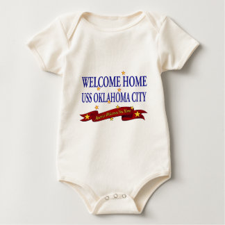 Welcome Home USS Oklahoma City Baby Bodysuit