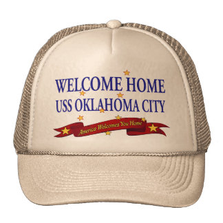 Welcome Home USS Oklahoma City Trucker Hat