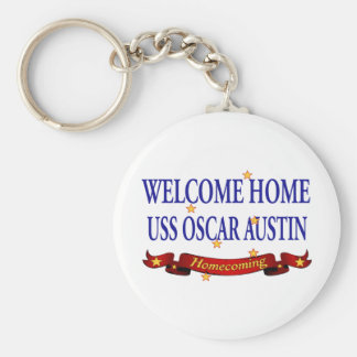 Welcome Home USS Oscar Martin Keychain