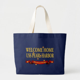 Welcome Home USS Pearl Harbor Tote Bags