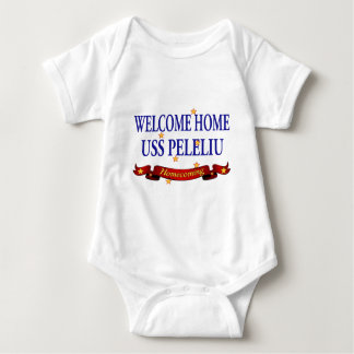 Welcome Home USS Peleliu Baby Bodysuit