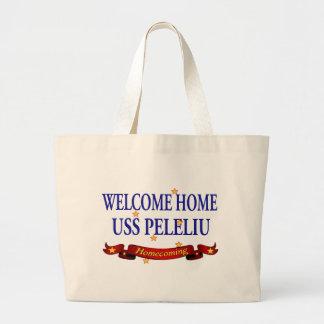 Welcome Home USS Peleliu Large Tote Bag