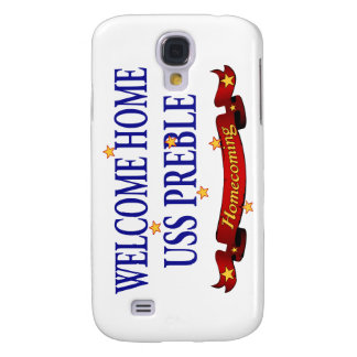 Welcome Home USS Preble Galaxy S4 Case