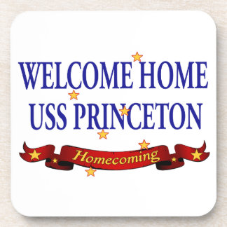 Welcome Home USS Princeton Beverage Coaster