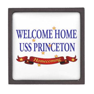 Welcome Home USS Princeton Keepsake Box